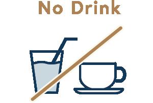飲物のサービスを控えています。